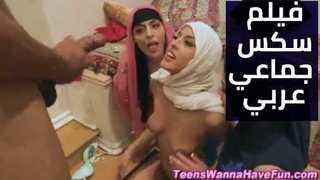 سكس جماعى عربي : محجبات يتنافسن على النيك xxx فيديو عربي